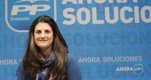 Cristina Almagro, recientemente elegida concejal del PP