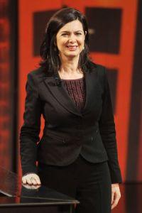 La presidenta de la Cámara baja italiana, en un programa de televisión en 2013 en Milán. / STEFANIA D'ALESSANDRO (GETTY IMAGES)
